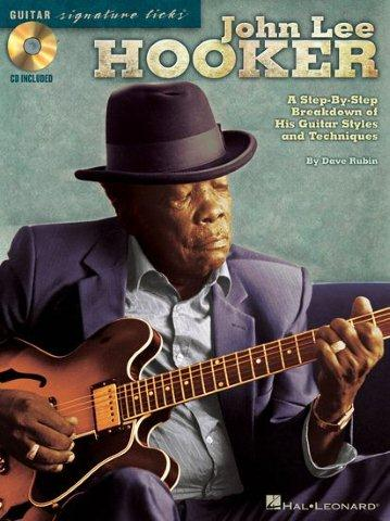 John Lee Hooker: Signature Guitar Licks (tabulatury, noty, kytara) (+doprovodné CD)
