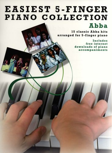 Easiest 5-Finger Piano Collection: Abba (noty na pětiprstý klavír)